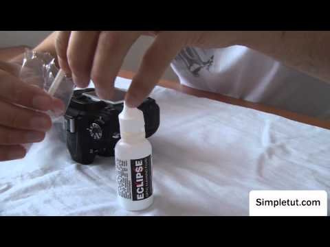 How To Professionally Clean Your DSLR Camera's Sensor – Wet Method, Sensor Swabs, Eclipse