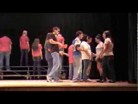 Walters High School SMILE Youth Coalition Drug-Free Skit for Red Ribbon Week Assembly