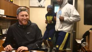 Michigan Football Running Man Challenge