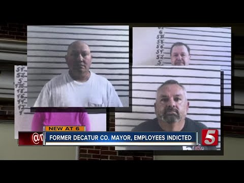 Former Decatur Co. Mayor, Employees Indicted On Theft Charges