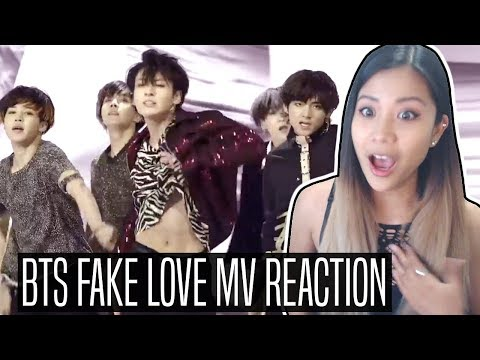 BTS (방탄소년단) 'FAKE LOVE' MV REACTION