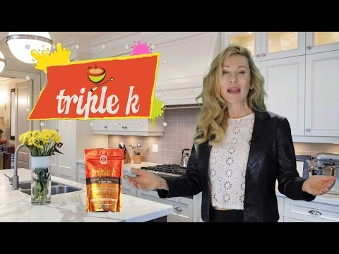 Triple K helps with crepey skin, excess weight and aching joints!