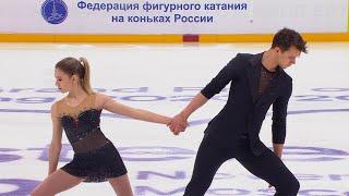Ксения Ахантьева Валерий Колесов Произвольная программа Кубок России 2020 21 Пятый этап