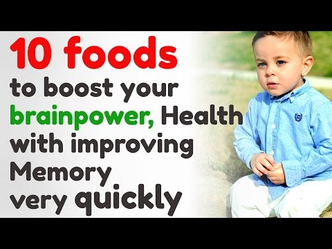 10 foods to boost your brainpower, Health with improving Memory very quickly
