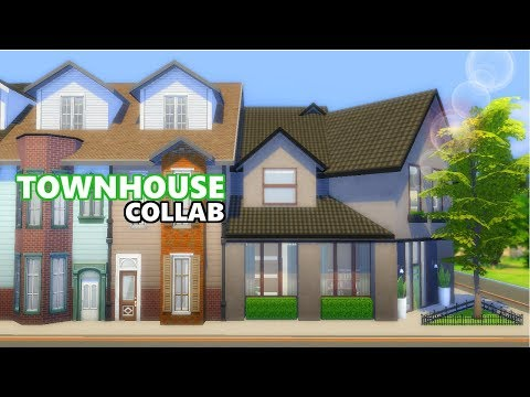 TOWNHOUSE COLLAB | FURNISHING HOUSE 5 | THE SIMS 4