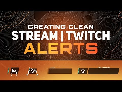 PS/AE Tutorial: Creating Animated Clean Stream/Twitch Alerts