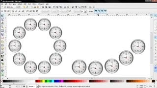 How to Put Object (Complex Graphics) on Path - Inkscape Tutorial