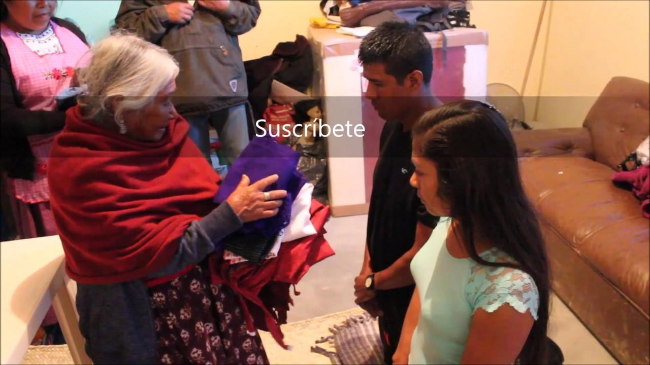 Los Tres Vestidos De Una Novia En Oaxaca