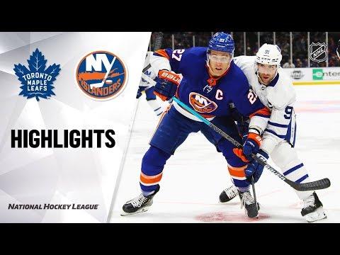 NHL Highlights | Maple Leafs @ Islanders 11/13/19
