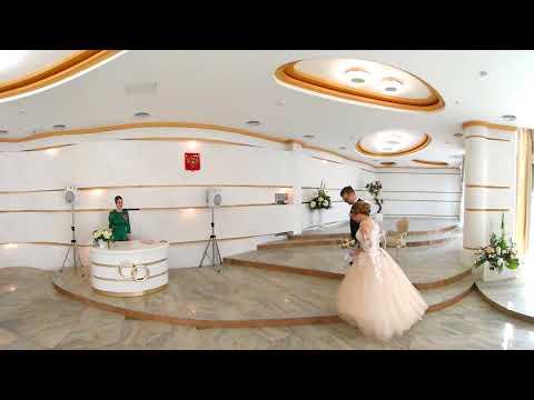 Свадьба в центральном ЗАГСе г. Тулы