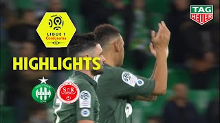 AS Saint-Etienne - Stade de Reims ( 2-0 ) - Highlights - (ASSE - REIMS) / 2018-19