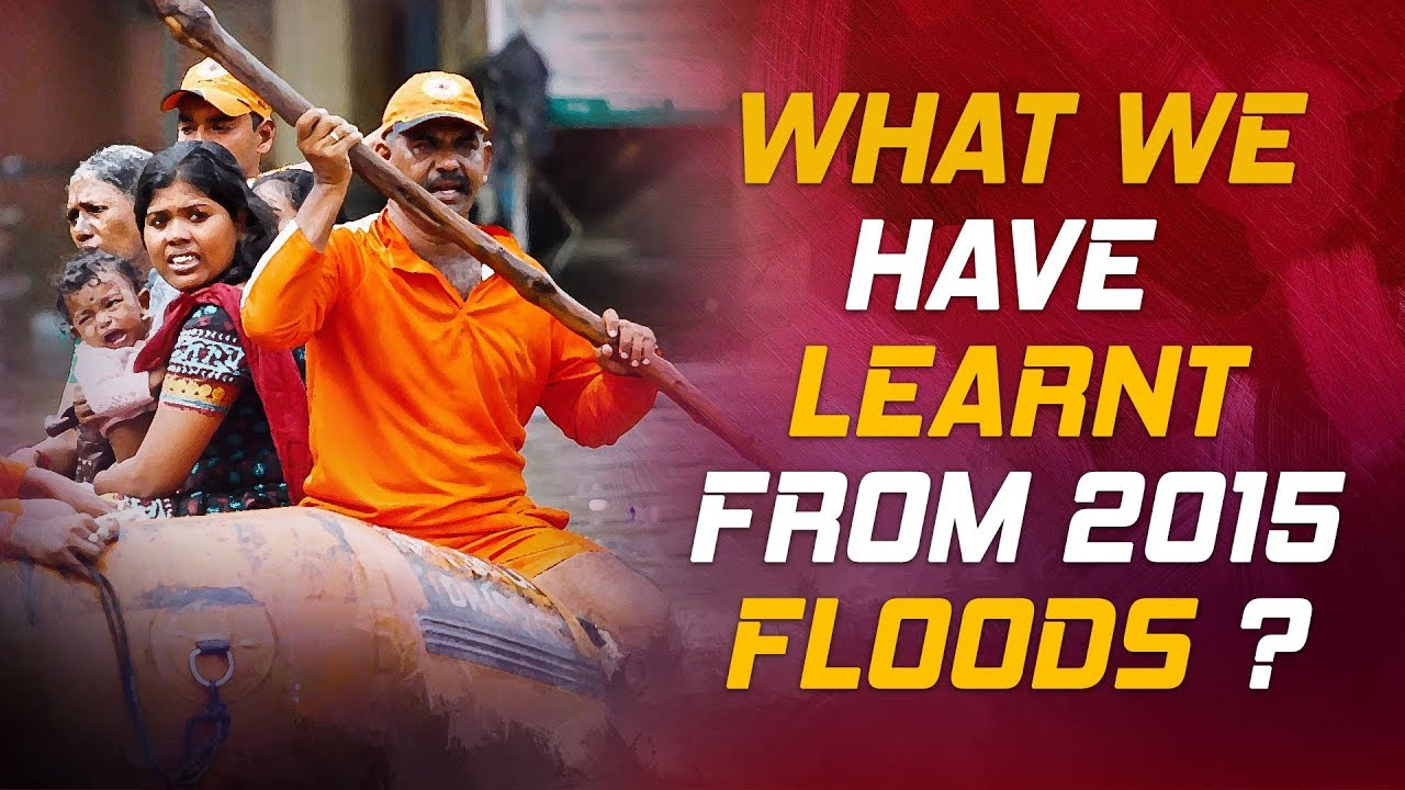 Chennai Floods 2015: What We Have Learnt From it? | WaterMan Answers | Micro 9