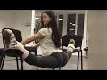 Strong Girls Doing The Splits - Female Fitness Motivation