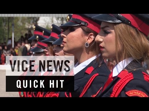 Iraqi Kurdistan's First Class of Female Cadets: VICE News Quick Hit