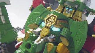 Enter Rumble Tusk Ninja Steel Megazord