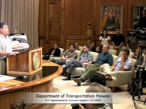 DOT Hawaii H-1 Improvements Part 4
