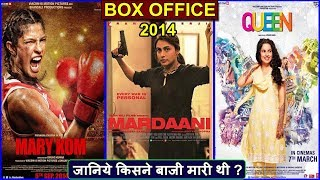 Mardaani, Mary Kom vs Queen 2014 Movie Budget, Box Office Collection and Verdict