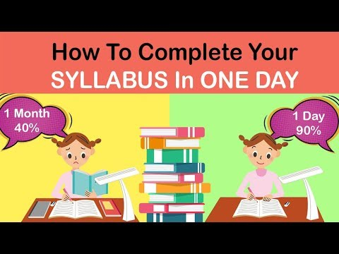 how-to-complete-the-entire-syllabus-in-one-day-#studyhack-#abetterlife