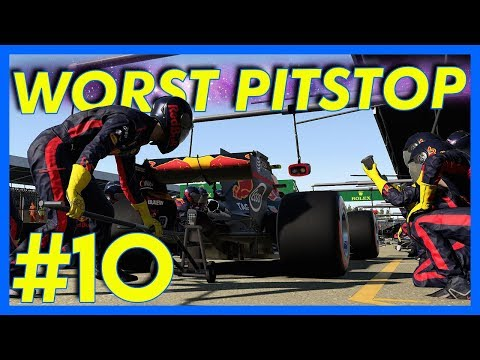 F1 2017 Career Mode Gameplay : WORST PITSTOP EVER!! (Part 10)