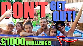 LAST TO LEAVE THE SWIMMING POOL WINS $1000!!!!