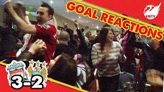 LFC Fan Goal Reactions | Liverpool 3-2 Man City