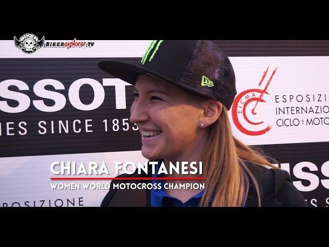 Chiara Fontanesi intervista a MotoLive con Susanna Bottazzi