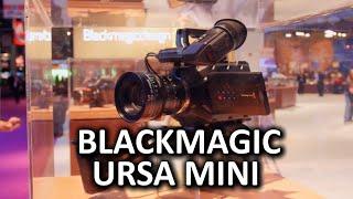 Blackmagic URSA Mini - 4.6K Sensor, Ergonomic Design - NAB Show 2015