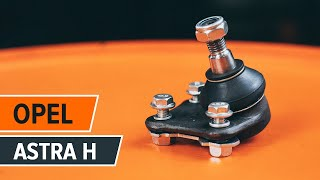 How to change Brake disc set ASTRA H (L48) - step-by-step video manual