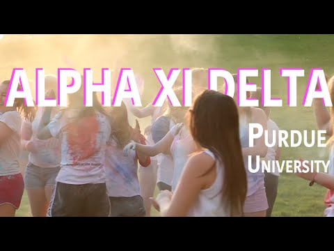 Rush ΑΞΔ - Purdue University - 2016