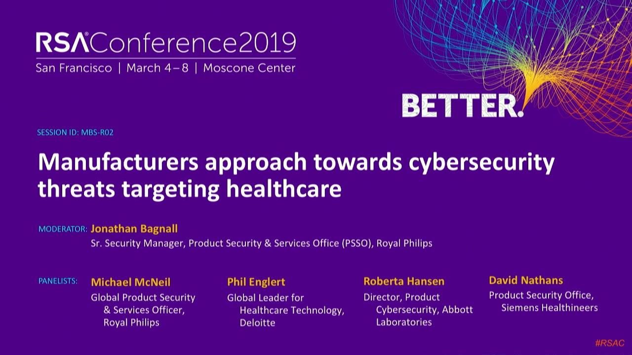 Michael McNeil | RSA Conference