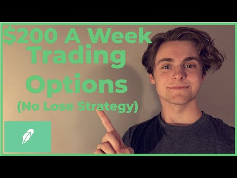 $200 a Week, Trading Options on Robinhood! The Wheel Strategy   No Lose Strategy!