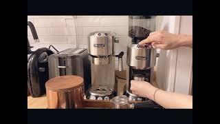 모카포트로 커피 추출하기 첫경험