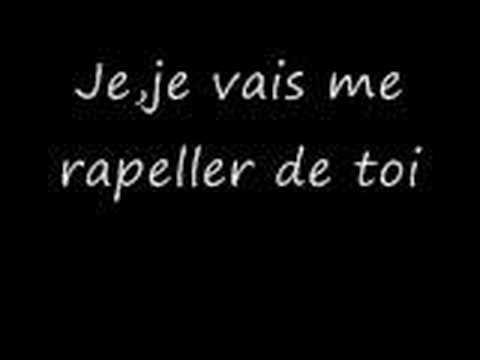 I will remember you - Ryan Cabrera sous-titres français