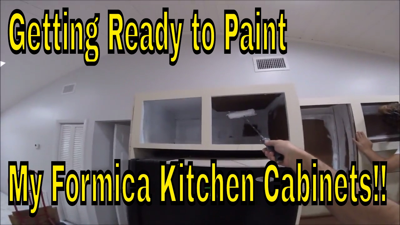 Getting Ready To Paint My Formica Kitchen Cabinets Remove Cabinet Hardware Prime Inside
