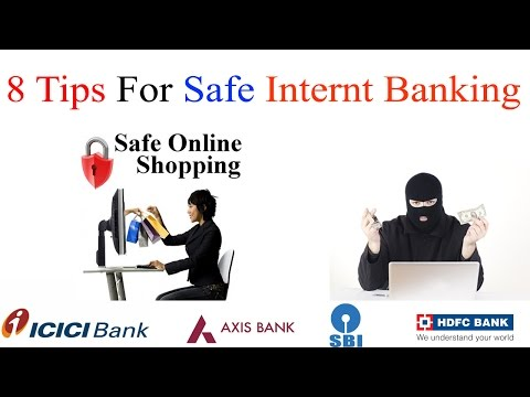 Safe Internet Banking  Tips | how to secure online banking transactions