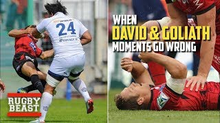When 'David & Goliath' moments go wrong