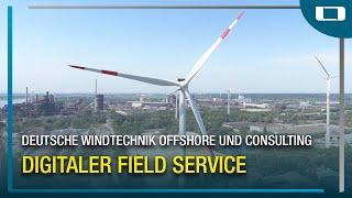 L-mobile service im Einsatz bei Deutsche Windtechnik Offshore und Consulting