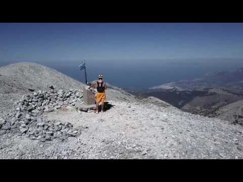 RUNNING MOUNT KERKIS AGAIN!! (SAMOS, GREECE)