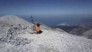 RUNNING MOUNT KERKIS AGAIN!! (SAMOS, GREECE)
