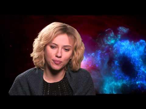 """Lucy"" interview with Scarlett Johansson"