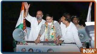 Exclusive | Priya Dutt के Roadshow में सड़कों पर Vote मांगने निकले Sanjay Dutt