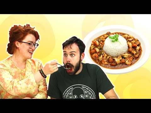 Irish People Taste Test Gumbo