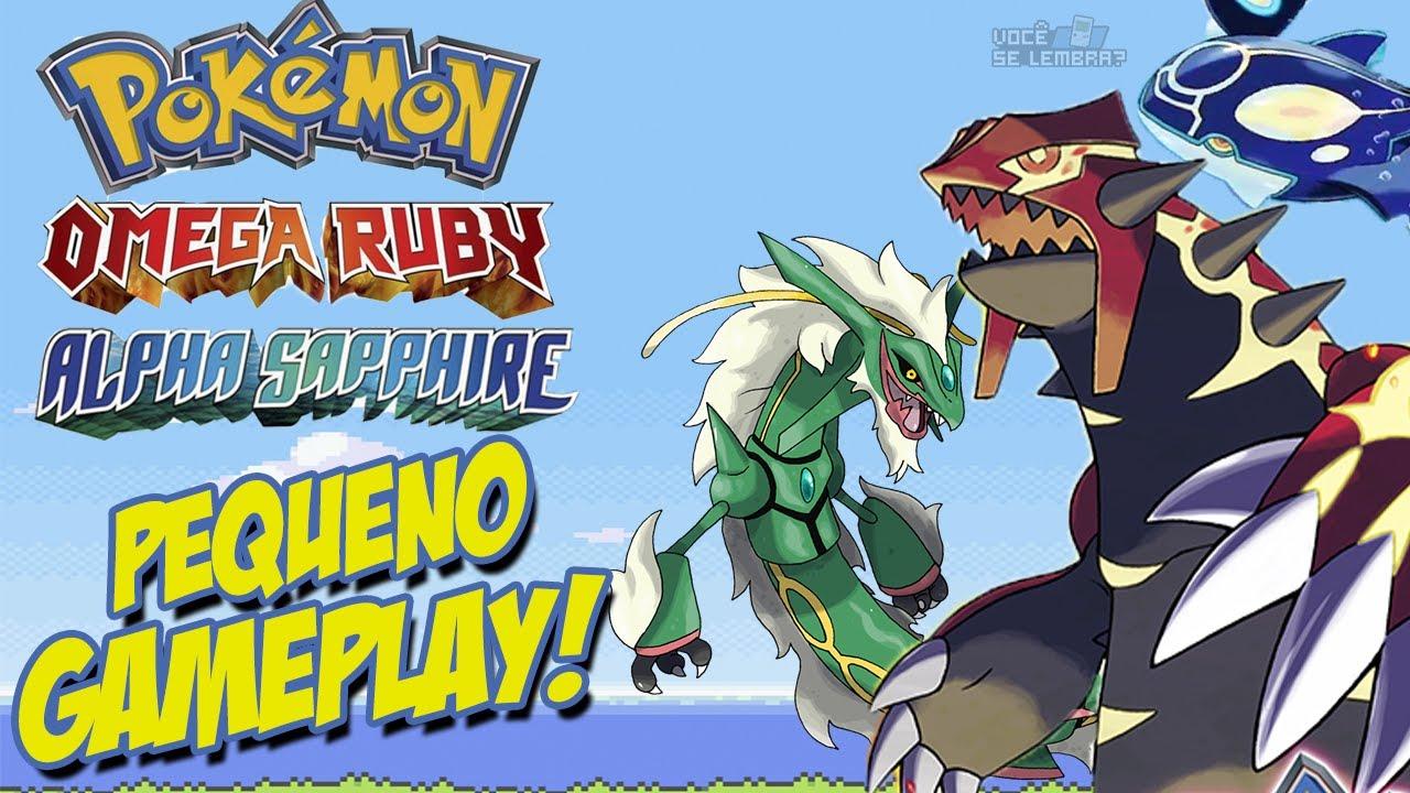 Pokémon Omega Ruby amp; Pokémon Alpha Sapphire / Novidades