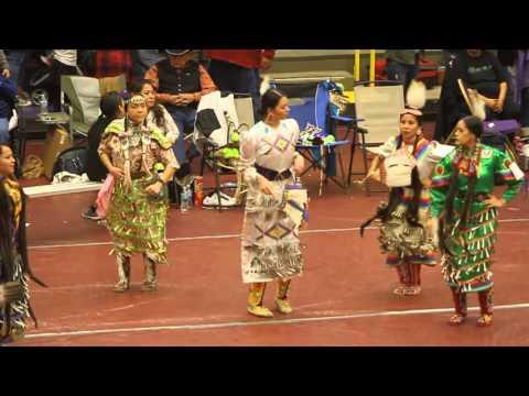 Dazha Pidgeon Jingle Dress Special, Song 2 Haskell Welcome Back Powwow 2016