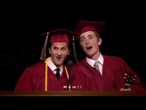 News Clip, Full Song w Subtitles Parent Tribute Song at Lone Peak High School Graduation 2019
