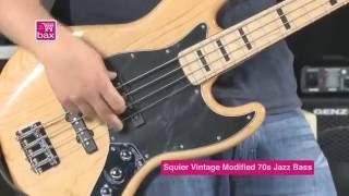 Squier vs Fender bass