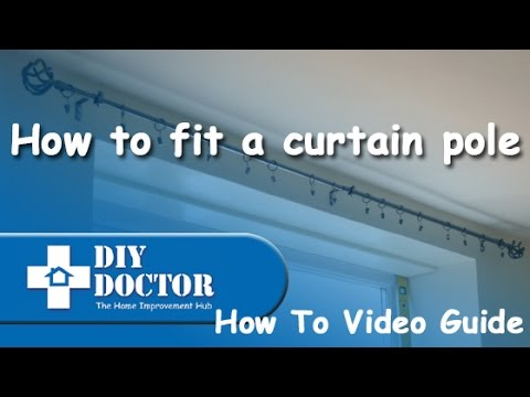 fitting-a-curtain-pole