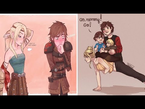 Funny How To Train Your Dragon Comics | HTTYD Comics: GO, MOMMY!!