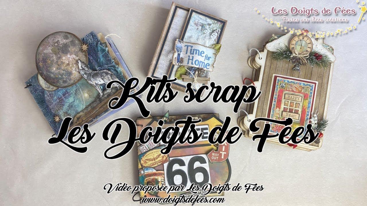 Nos kits scrapbooking 2 - Les Doigts de Fées