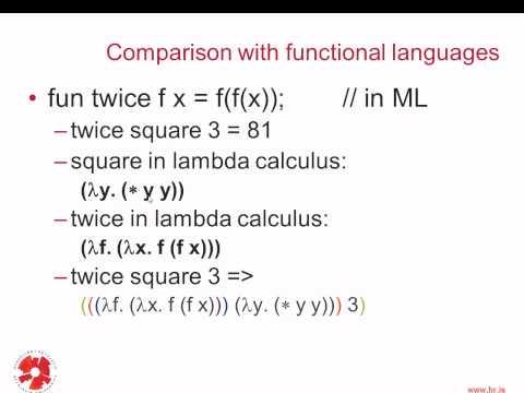 Programming Languages: Lambda Calculus - 2